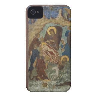 Rusia, Yaroslavl, fresco en la catedral de St. 2 Case-Mate iPhone 4 Cárcasas