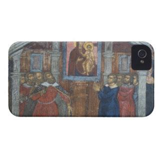 Rusia Yaroslavl fresco en la catedral del St