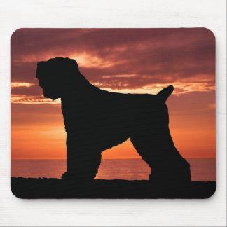Ruso negro Terrier Alfombrilla De Ratón