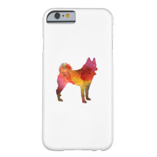 Russian European Laika in watercolor Funda Barely There iPhone 6