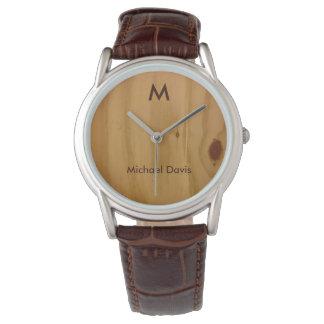 rústico y elegante, madera texturizada, relojes