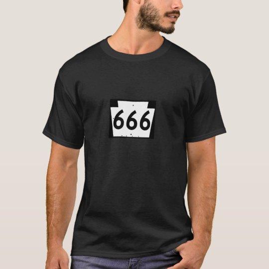 Ruta 666 camiseta