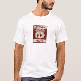 Ruta 66 de Springfield Camiseta