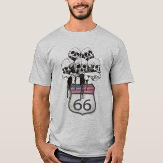 ruta 66 del scull camiseta