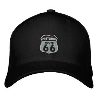 Ruta 66 gorra bordada