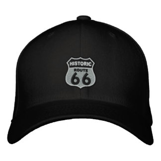 Ruta 66 gorras bordadas