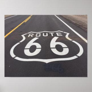 Ruta 66 póster