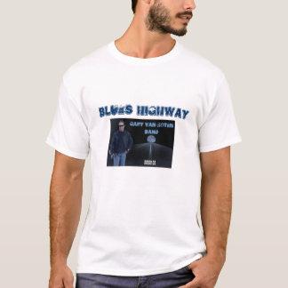Ruta 66 W de la carretera de los azules Camiseta
