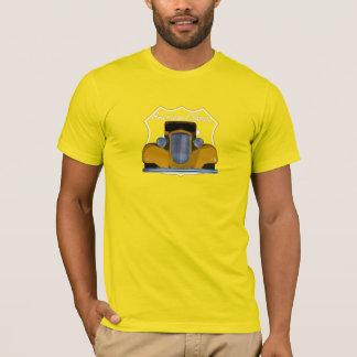 Ruta clásica americana 66 de Hotrod Camiseta