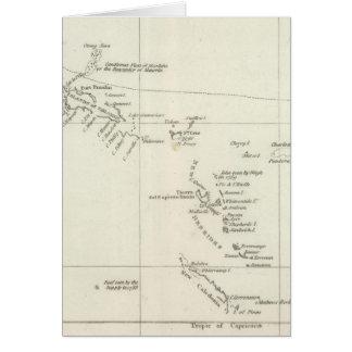 Ruta del la español Princesa de la fragata Tarjetón