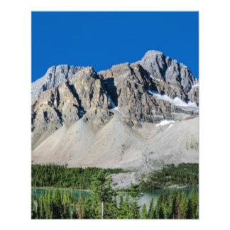 Ruta verde Alberta Canadá de Icefields del lago bo Folleto 11,4 X 14,2 Cm