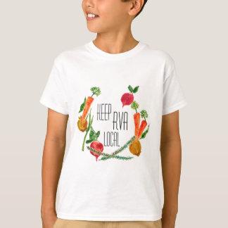 RVA van camiseta fresca de los niños del diseño de