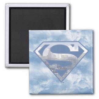 S-Escudo del superhombre Imán