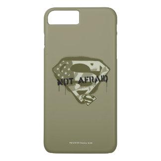 S-Escudo el   del superhombre no asustado - Funda Para iPhone 8 Plus/7 Plus