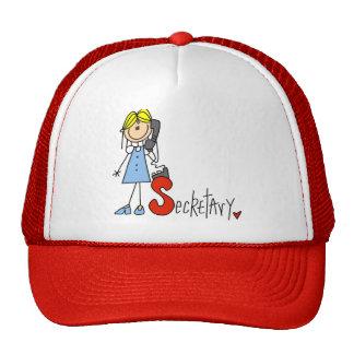 S está para la secretaria gorras de camionero