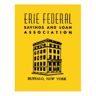 S&L federal de Erie Postal