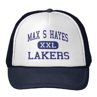 S máximo Hayes - Lakers - de formación profesional Gorro De Camionero