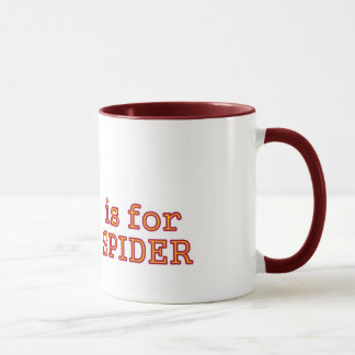 S para la taza de la araña