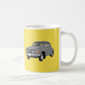 Saab 96, gris taza de café