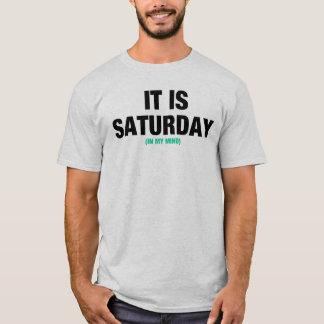 Sábado Camiseta