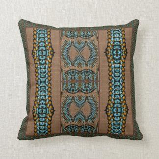 Saber africano cojín decorativo