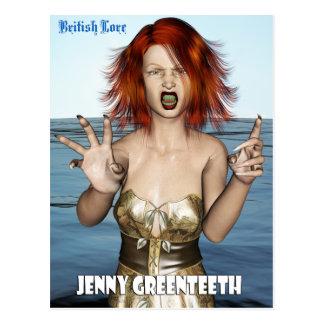 Saber británico: Jenny Greenteeth Postal