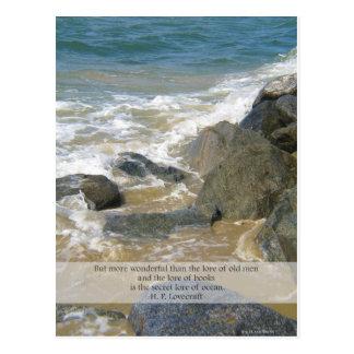 Saber de las postales de la playa de Newport del