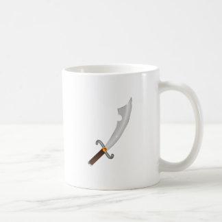 Sable saber sabre tazas de café