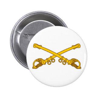 Sables de la caballería chapa redonda de 5 cm