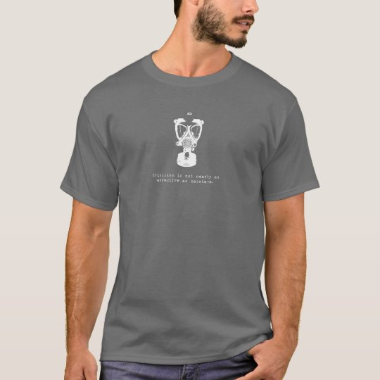 saboteador inc. camiseta