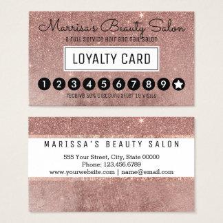 Sacador color de rosa atractivo del descuento de tarjeta de negocios