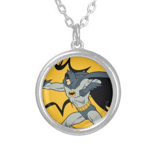 Sacador de Batman Collar Plateado