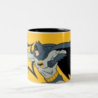 Sacador de Batman Taza De Dos Tonos