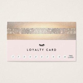 Sacador rosado de la lealtad 11 del cliente de las tarjeta de negocios