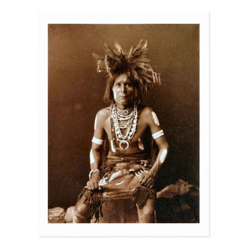 Sacerdote CA 1900 de la serpiente del Hopi Postales
