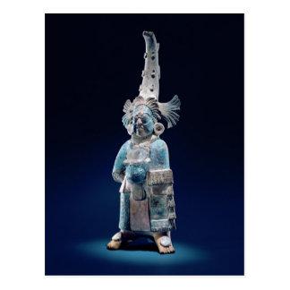 Sacerdote en trajes ceremoniales, isla de Jaina Postal