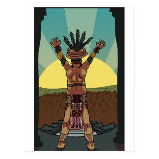 sacerdote maya postal
