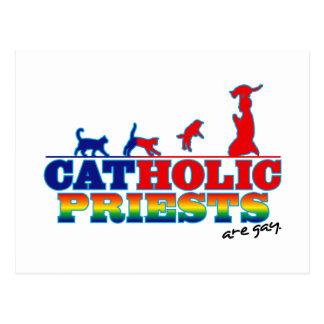 Sacerdotes católicos tarjeta postal