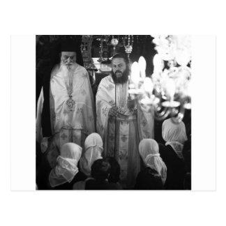 Sacerdotes griegos postal