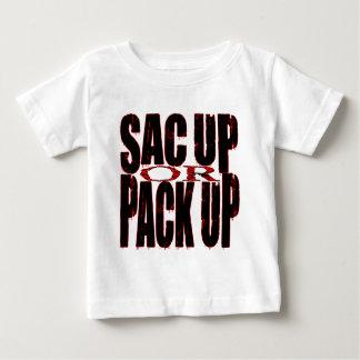 Saco ascendente o paquete para arriba camisetas