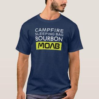 Saco de dormir Borbón Moab de la hoguera Camiseta