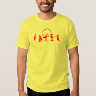 Saco de Hacky - rojo Camisetas