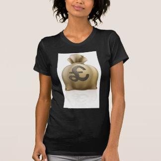 Saco de la muestra de la libra esterlina camisetas