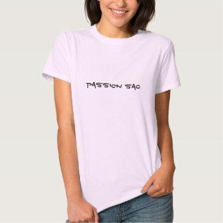 Saco de la pasión camisetas
