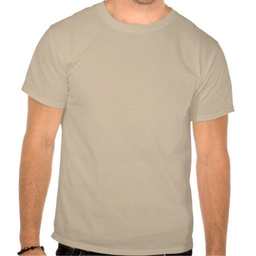 Saco de la patata del vintage (marca roja del oso) camisetas