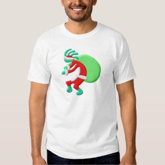 Saco de Santas del nativo americano de Kokopelli Camisetas