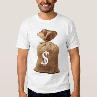 Saco del dinero, lo consigo adentro camiseta
