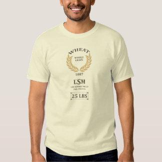 Saco del trigo del vintage camiseta
