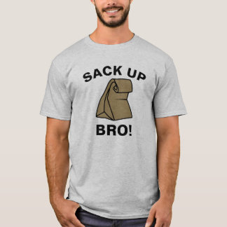 Saco encima de Bro Camiseta
