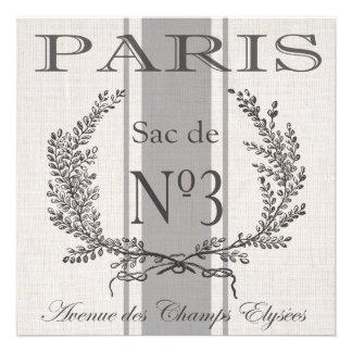 saco moderno del grano de París del francés del Comunicados